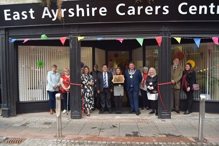 Carers Centre opening