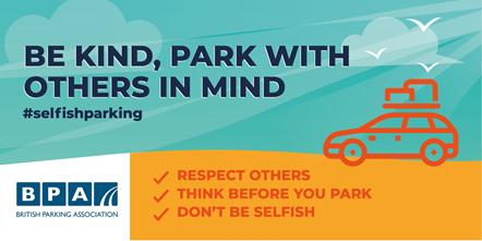 Selfish Parker Campaign Twitter Beach2