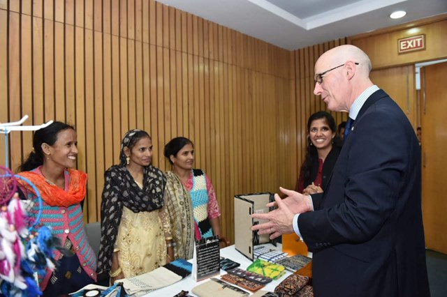 5- Deputy First Minister meets Social Entrepreneurs in India