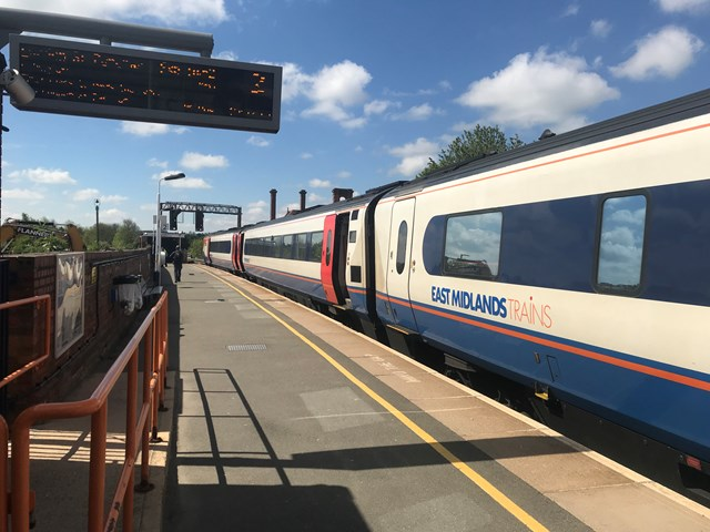 Passengers urged to plan ahead as six days of major work on Midland Main Line begins today: EMT at MH station 2