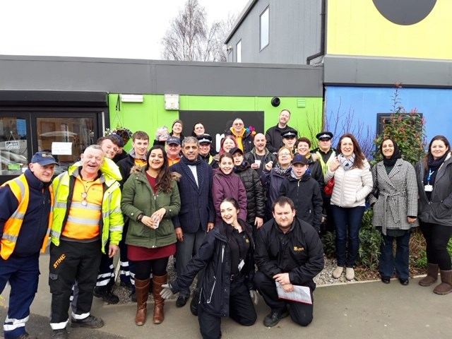 Keeping an eye out for fly tipping in East Leeds: harehillscommunityclean-up.jpg