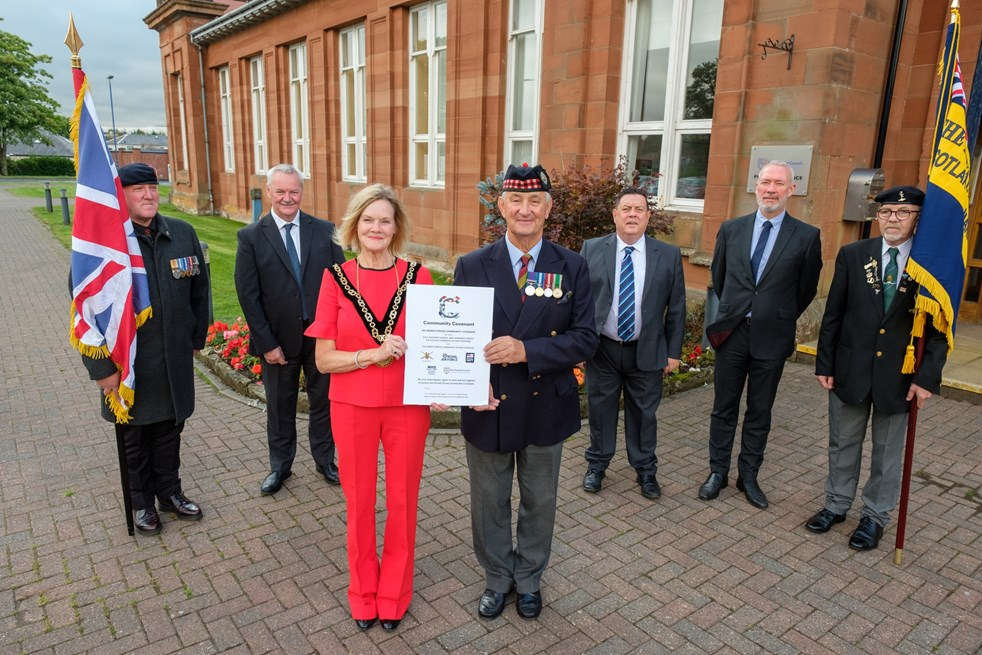 Councils renew commitment to Armed Forces Community Covenant