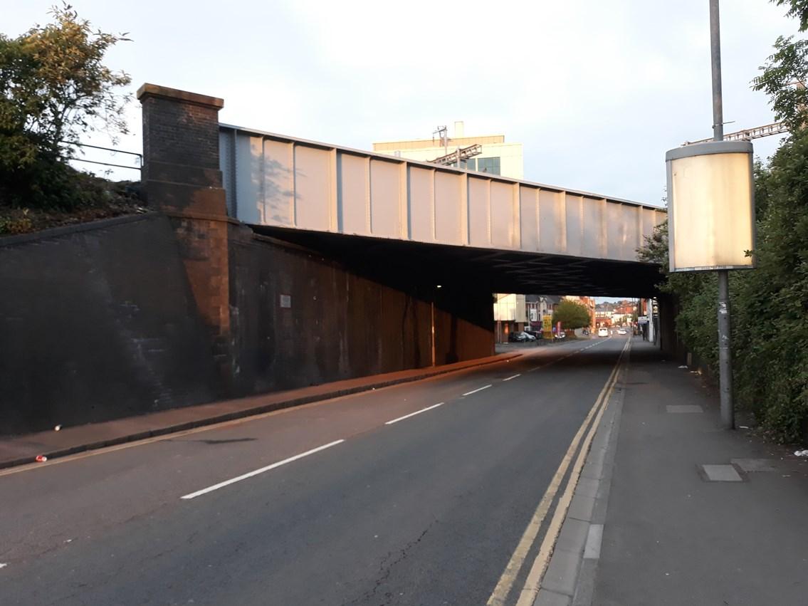 Caerleon Road bridge renewal complete: CaerleonRoadbridge1