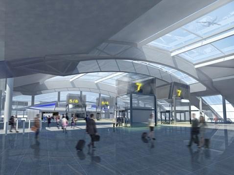 Gatwick Airport redevelopment - CGI1