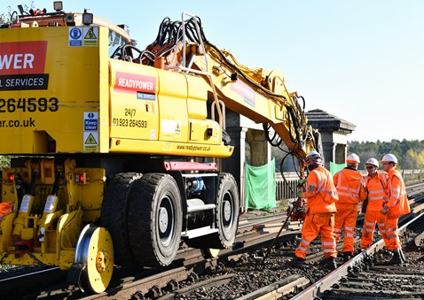 Brighton Mainline Upgrade Ouse Valley Oct 10  (26)