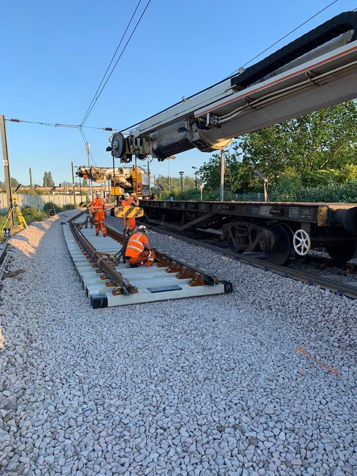 Norfolk track renewals 2