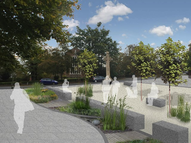 TfL Image - New public space, Bromley