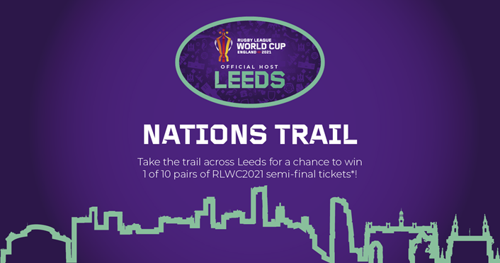 The Rugby League World Cup Nations Trail is coming to Leeds!: 18856 RLWC Social Assets Generic 1200x630px VIS01