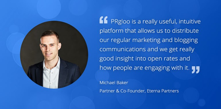 PRgloo - Powering PR Agencies with Invaluable Insight: Marketing Michael Baker 2