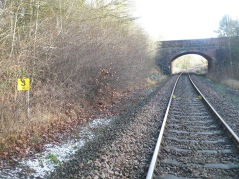 The existing rail through Hanwood is being replaced to ensure the continued safe operation of the railway.
