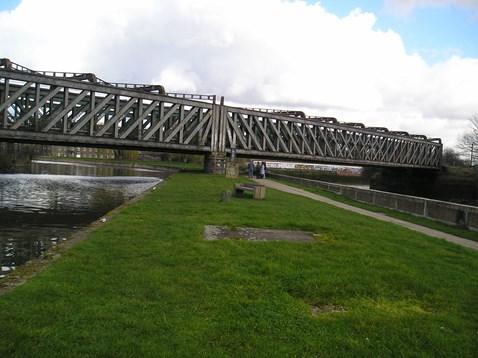 Bridge over River Lea 3