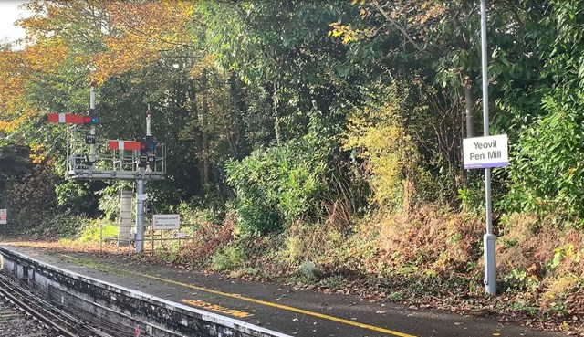 Essential maintenance on Heart of Wessex line to begin in February: Yeovil-Pen-Mill-signals