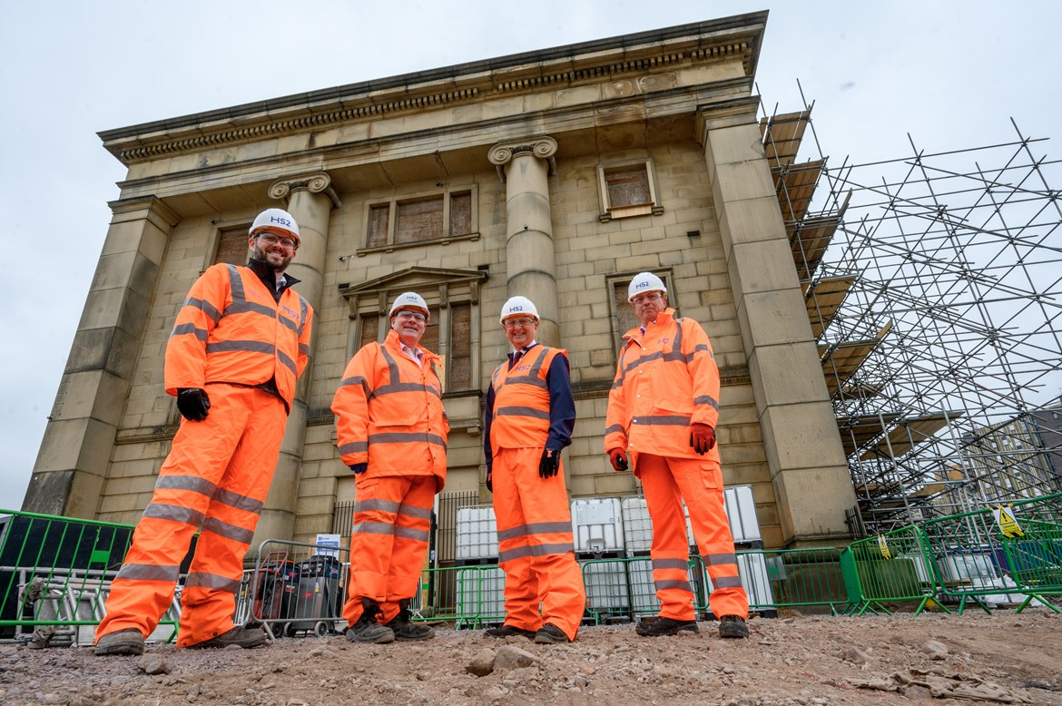 HS2 starts work on restoring one of the world's oldest railway buildings: Old Curzon Street Station refurb starts 2 Sept 2021