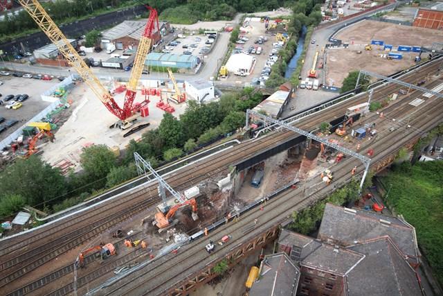 Work to reconstruct Dantzic Street bridge