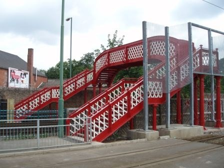 Lincoln Street Footbridge - after refurbishment