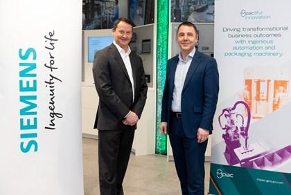 Mpac Lambert Selects Siemens Digital Industries as 'Digital Platform Partner': Tony Steels and Brian Holliday