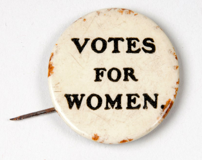 Leeds event to celebrate 100 years of votes for women: suffragettebadge2.jpg
