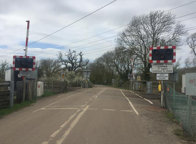 Kiln Lane level crossing Ely