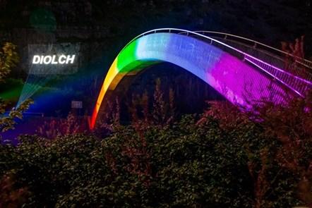 Cyhoeddi £50,000 ychwanegol i gefnogi iechyd meddwl gofalwyr di-dâlyn ystod y pandemig: rainbow bridge-9
