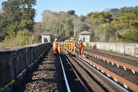 Brighton Mainline Upgrade Ouse Valley Oct 10  (52)