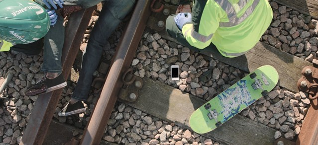 Life-saving campaign's new partnership to stop young people risking their lives on the railway: Third Rail-3
