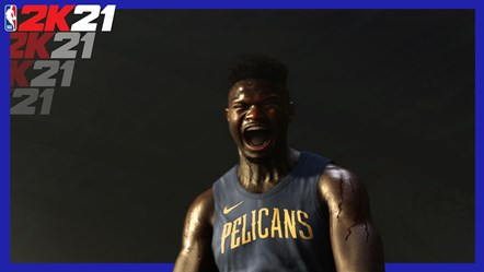 NBA 2K21 - Zion Williamson Hype (Still from PS5 Teaser Trailer)