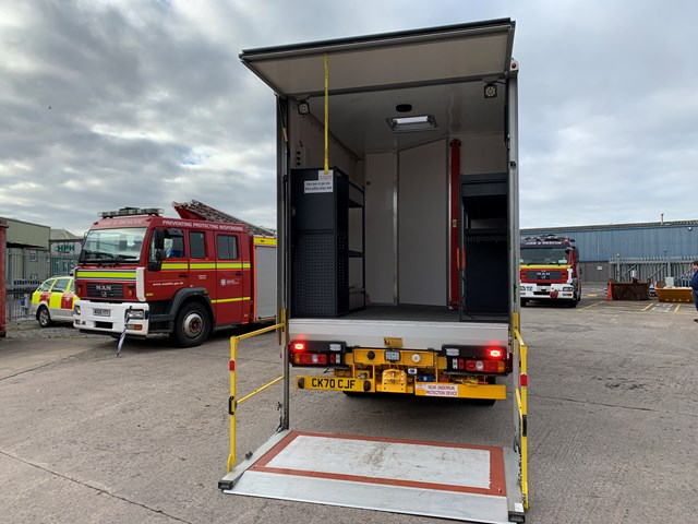 Emergency services vehicle donation 4
