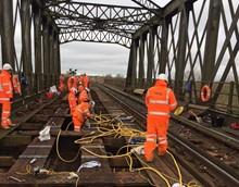 Manea bridge Cambridgeshire structural renewal