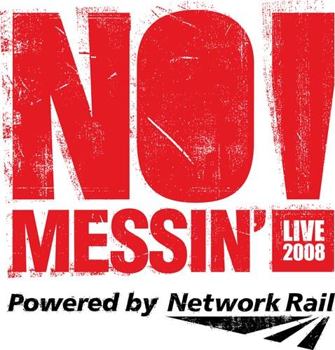 No Messin Live Logo Red