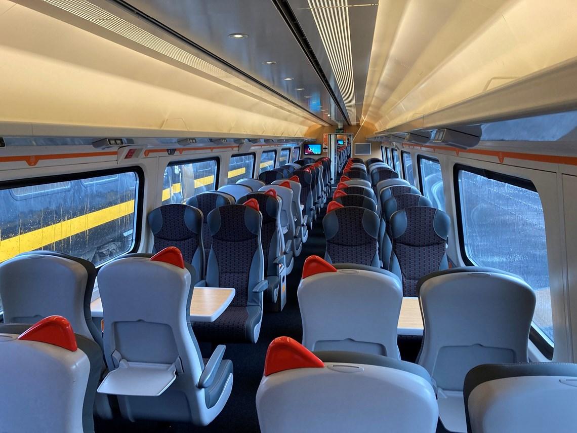 Swansea-Manchester Mark 4 standard interior 2