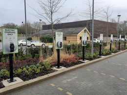 Mitie installed new electric vehicle charge points for Royal London