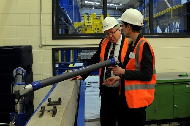 Doncaster Sleeper Factory opening: Secretary of State sees testing in on-site laboratory