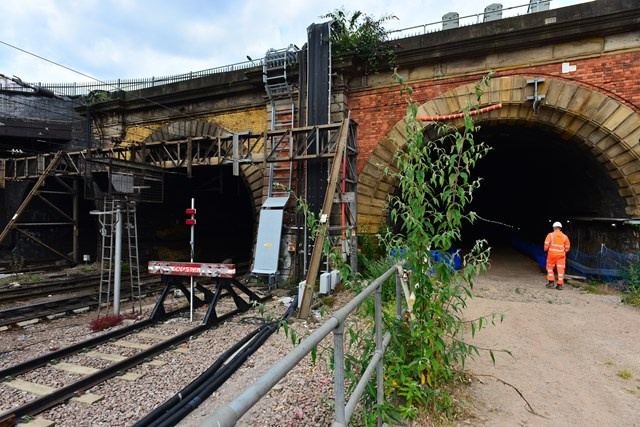 The tunnel which will be reopened as part of the East Coast Upgrade