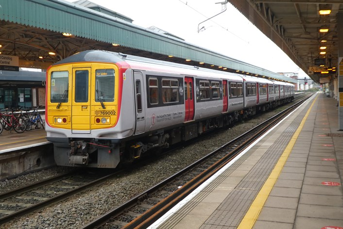 Class 769 at Cardiff Central