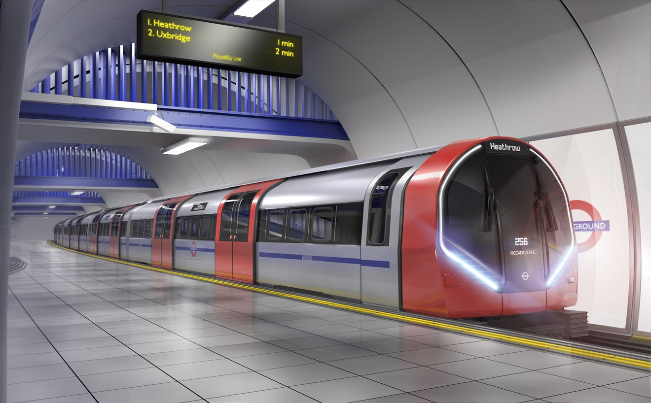 Siemens Mobility Limited signs contract to design and manufacture a new generation of Tube trains: FOR-USE-New full train exterior