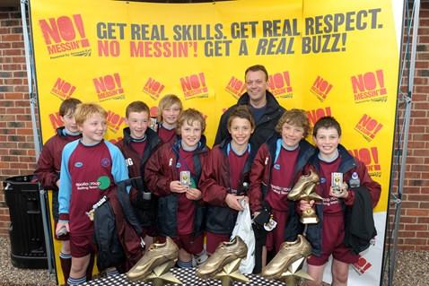 U12 winners - Duffield Meadows