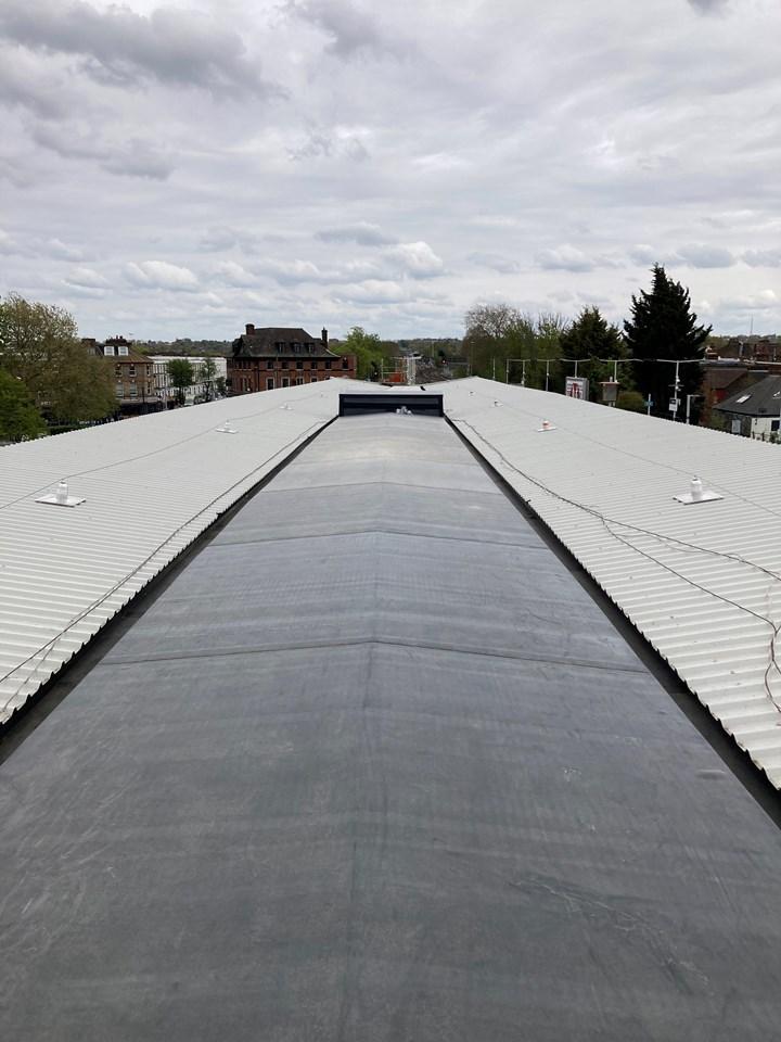 Balham station roof