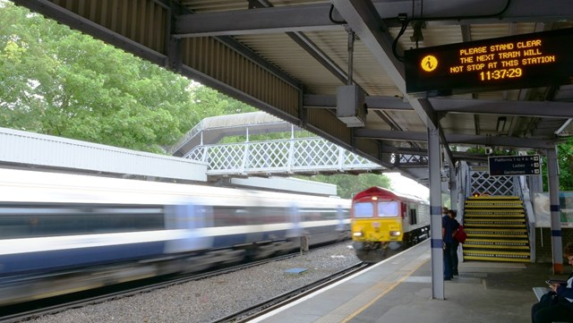 Kent rail passengers to benefit from £10m project to improve passenger information systems: Kent CIS 1