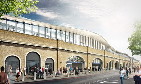 NEW - St Thomas Street facade CGI - London Bridge