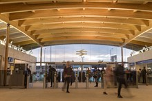 Abbey Wood s new station building opens  22 October 2017  291647