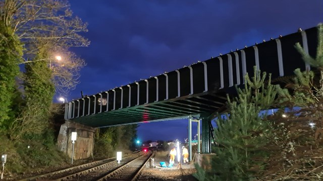 Millway road bridge complete