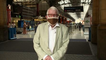 John Motson - Euro 2020 rail travel