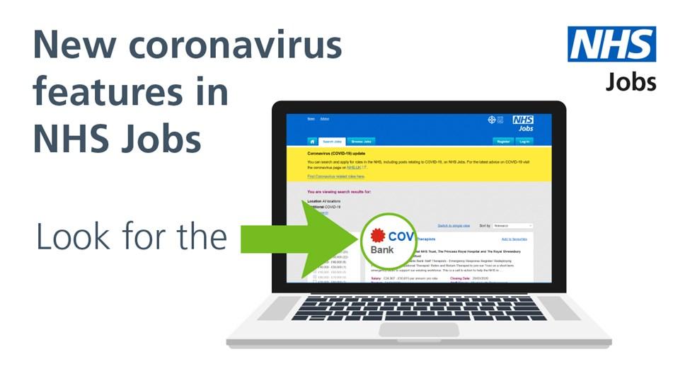 NHS jobs - Covid19