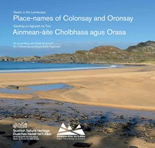 Place-names of Colonsay and Oronsay cover: Place-names of Colonsay and Oronsay cover
