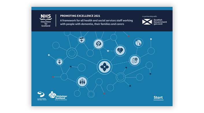 Promoting Excellence 2021 (image): Cover of the 2021 Promoting Excellence framework