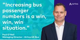 Arriva Blog: Strengthening the bus network in the North of England: Paul O'Neil - Strengthening the bus network in the North of England