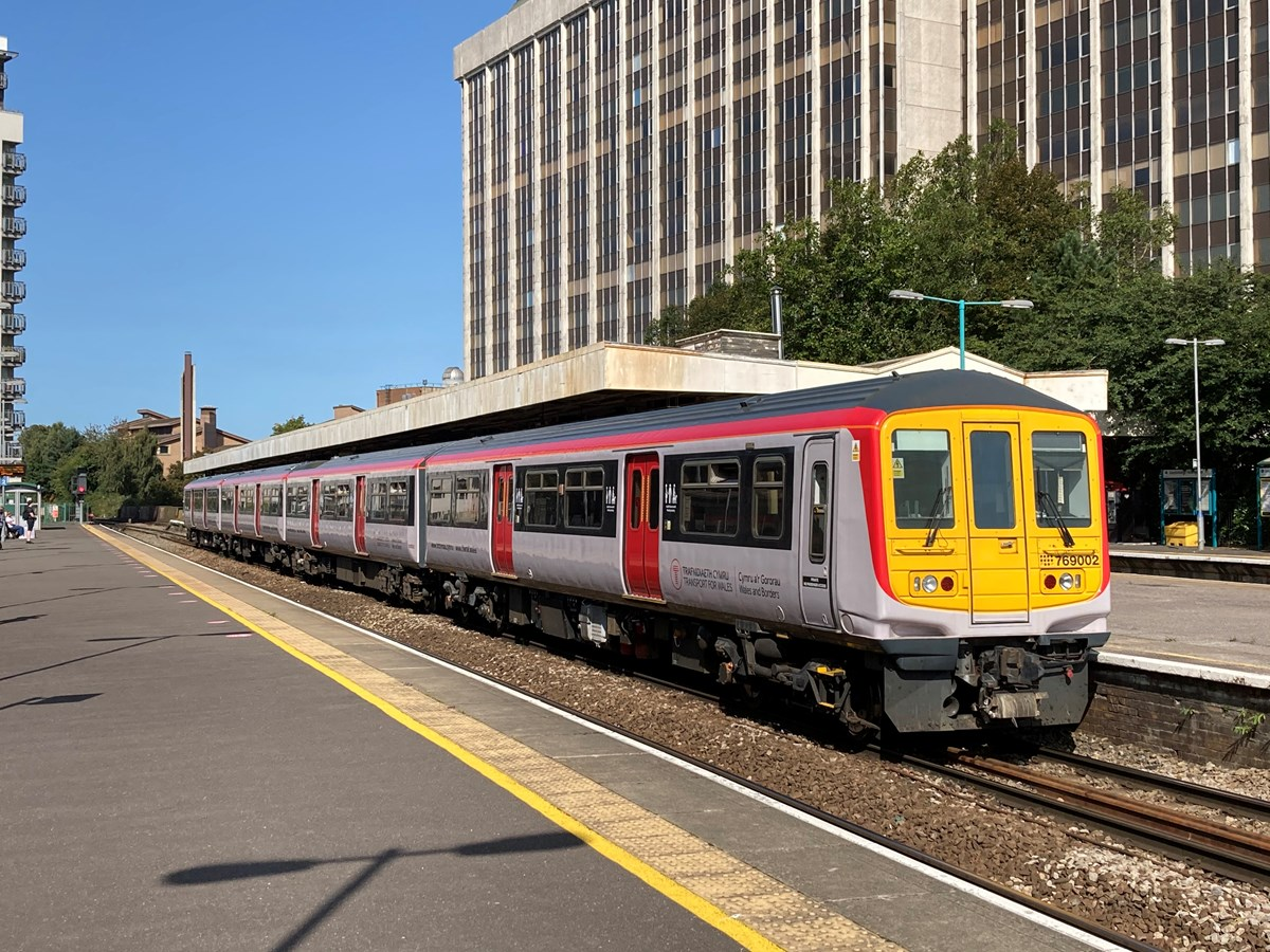 Class 769 at Cardiff Queen Street
