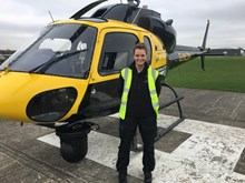 Emma Taylor, aerial survey specialist for Network Rail