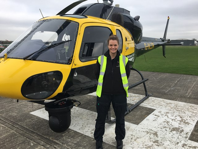 Wiltshire woman to appear in new Channel 5 documentary series: Emma Taylor, aerial survey specialist for Network Rail
