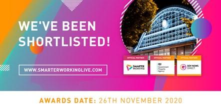 NHSBSA shortlisted for Smarter Working Live awards: Smarter Working Live 2020 shortlist